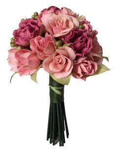 # cornhusk flower bouquet