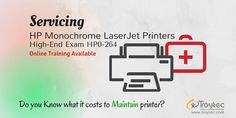 Servicing #HP Monochrome LaserJet Printers, #High_End Exam #HP0_264 #infographics #troytec