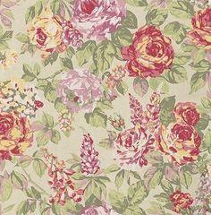 English Rose  Paradise wallpaper by Prestigious