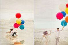 #coisinhasqueamamos: Ensaio com balões (Camila e Heverton) | http://www.blogdocasamento.com.br/cerimonia-festa-casamento/ensaio/coisinhasqueamamos-ensaio-com-baloes-camila-e-heverton/