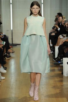 Ellery RTW Spring 2014 [Photo by Dominique Maître]
