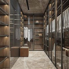 Luxury Closet Ideas Walk In Closet Design Dressing Room Walk In Closet Design, Bedroom Closet Design, Closet Designs, Home Design Decor, Modern House Design, Home Interior Design, Design Ideas, Design Interiors, Room Interior