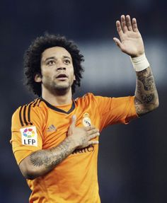 Marcelo (Brazil) - Fluminense, Real Madrid. Even though he scored for his own team in the WORLD CUP 2014...he still cute lol