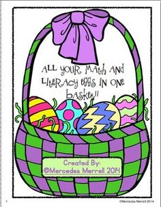 This  30 page printable is full of Spring math and literacy activities for centers, morning work, or whole class fun!  Its just print and go, then watch the student engagement soar as they learn!Ive included these activities for Language Arts and Math:Directions for How to Dye An Egg!Sequencing- Cut and Paste- How to Dye An Egg- Retell the processWrite/Draw-  Steps for dying an egg (in their own words)Sorting- Long Vowel Pattern WordsThe Egg Hunt- A mini-book readerStory Elements- Answer…