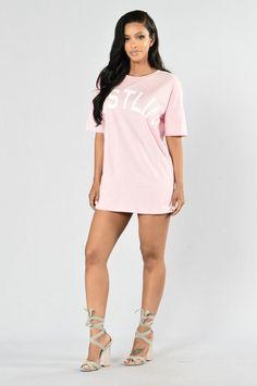 Always Hustlin' Tunic - Pink