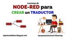 Lecciones de Node-Red Para Crear un Traductor - Ingeniera de Ideas