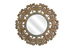 "Marlina Beveled Wall Mirror on OneKingsLane.com; 35""; $129"