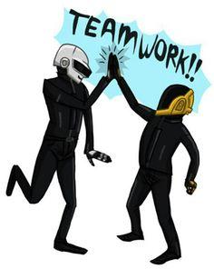 Trabajo en equipo.