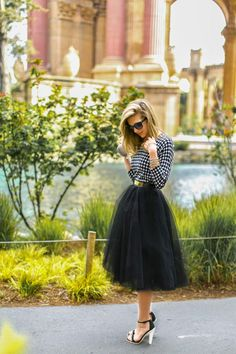 How to Chic: TUTTE SKIRT - GLAMOUR IN THE CITY