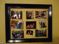 thrift-store frame picture frame