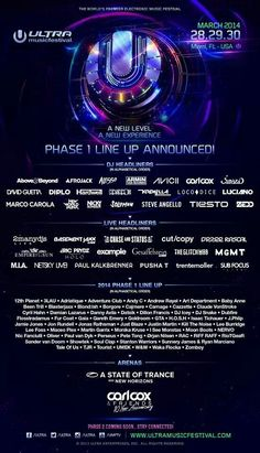Ultra Music Festival 2014 #crazyUltraFest.com ✨✨ by #TheCrazyCities.com