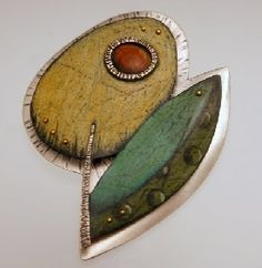 Carolina Creations | DK Flower Pin or Pendant D4 SALE PRICE 180 | Fine Art Contemporary Gift Gallery