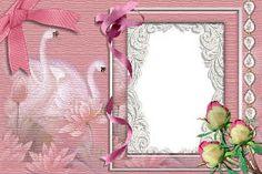 Mais de 380 molduras de fotos de casamento gratis para fotomontagem online