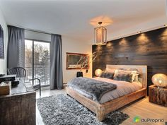 Best Modern Rustic Bedroom For Your Home. We searched the Modern Rustic Bedroom For Your Home color choices for you in the bedroom Modern Rustic Bedrooms, Rustic Bedroom Design, Master Bedroom Design, Trendy Bedroom, One Bedroom, Home Decor Bedroom, Bedroom Ideas, Bedroom Designs, Bed Room