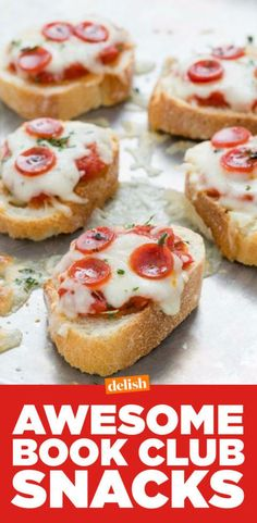 30+ Best Book Club Snacks-Food Ideas For Book Clubs—Delish.com