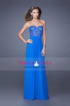 2015 Prom Dresses A Line Sweetheart Floor Length Chiffon With Beading/Sequins