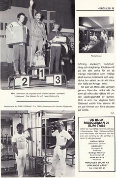 Sweden Gislaved - Golds Gym 1983