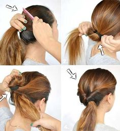 11 Easy Step By Step Up-dos