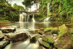 Lumb Falls, near Hebden Bridge, West Yorkshire by Simon Higginbottom (www.northerngallery.co.uk), via Flickr