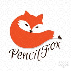Pencil Fox Logo.