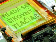 Hľadáme sieťotlačiara – trička.sk, sietotlač.sk   https://detepe.sk/hladame-sietotlaciara-tricka-sk-sietotlac-sk?utm_content=bufferb4ed6&utm_medium=social&utm_source=pinterest.com&utm_campaign=buffer