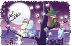 Avatar Publico uploaded this image to 'Anime/Moomin'. See the album on Photobucket. Tove Jansson, Moomin Wallpaper, Les Moomins, Moomin Valley, Pillowcase Pattern, Fantasy Fiction, Illustrations And Posters, Avatar, Book Art