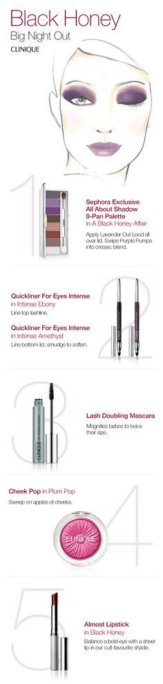 Clinique black honey eye palette