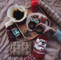 Картинка с тегом «christmas, winter, and donuts»