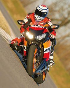 Honda CBR1000RR  how low can u go lol