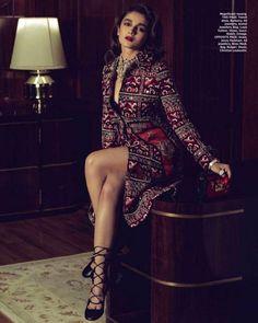 Alia Bhatt Photoshoot for Harper's Bazaar Bride Magazine September 2015