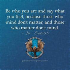 Ravenclaw Pride - Dr. Seuss