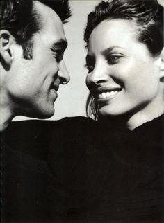 Calvin Klein Eternity 1997 - US Vogue - Photo Bruce Weber - Models Christy Turlington