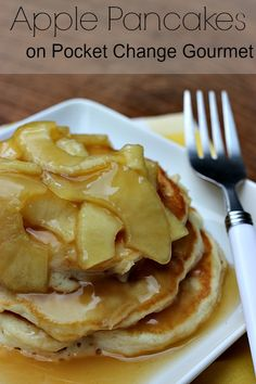 Apple Pancakes on Po