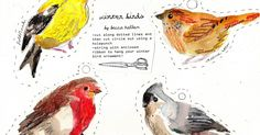 These are my holiday cards for 2010: various winter birds. You can print them out, cut them out, and string with ribbon for little ...