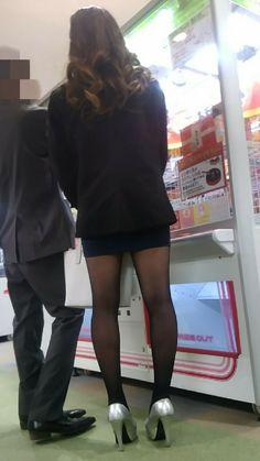 Black Stockings, Hosiery, Candid, Skater Skirt, Tights, Mini Skirts, Asian, Legs, Vampire Bites