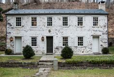 1810 stone house in NJ--restoration, Houzz
