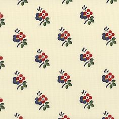 Reproduction Fabrics - turn of the century, > fabric line… Textile Pattern Design, Textile Patterns, Textile Prints, Flower Patterns, Print Patterns, Floral Prints, Small Flower Design, Small Flowers, Stencil Fabric