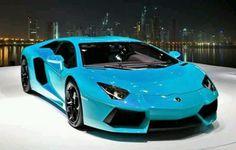 baby blue aventador! I'm in love!!!