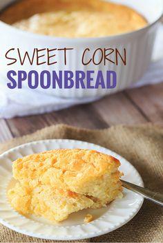 Sweet Corn Spoonbread | browneyedbaker.com