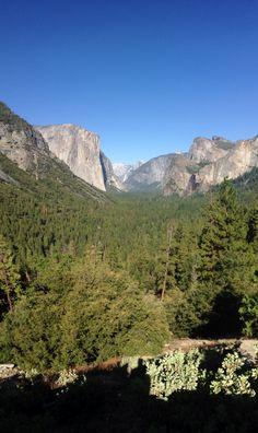 Yosemite National Park Tunnel Vission