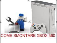 TUTORIAL COME SMONTARE  UNA XBOX 360 BIANCA