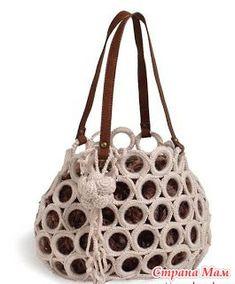 Сногсшибательные сумки... так просто... - Вязание - Страна Мам