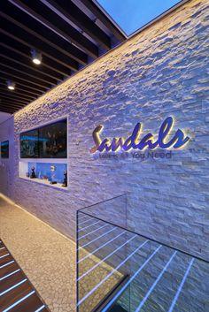 Sandals Luxury Travel Store, Fulham Road, London - Interior and Lighting design…