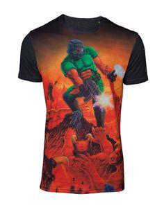 low priced 42eb0 3449b T-Shirt Doom - Box Art Sublimation