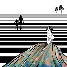 Elegance and sophisticated batik Pekalongan part.5 #batik #art #pekalongan #woman #batikart #batikpekalongan #batiklawas #stair #bw #fashion #fashiondesign #fashionillustration #fashionillustrator #illustration #illustrator #drawing #digitaldrawing