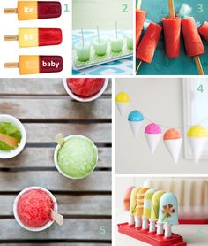 A collection of pretty frozen treats. (There's even more at the link!).