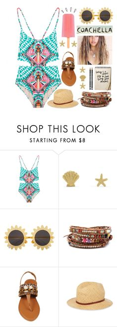 """Coachella"" by babemagnet00 ❤ liked on Polyvore featuring Mara Hoffman, BillyTheTree, H&M, Old Navy, Chan Luu and Madewell"