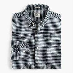 Secret Wash shirt in gingham