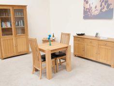 Cambridge Small Square Oak Dining Table, 80cm x 80cm