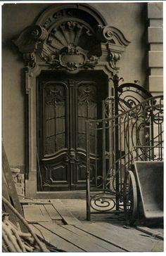 1953 - Reforma no Theatro Municipal. Acervo fotográfico do Arquivo Histórico de São Paulo.